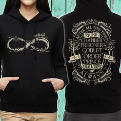 Just released, limited edition Harry Potter hoodie. After all this time? Always. Get yours before the campaign ends!