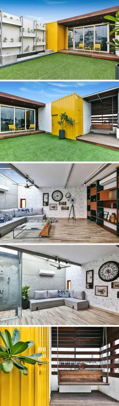 Rooftop Shipping Container Home/Studio