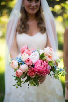 Cheerful wedding bouquet