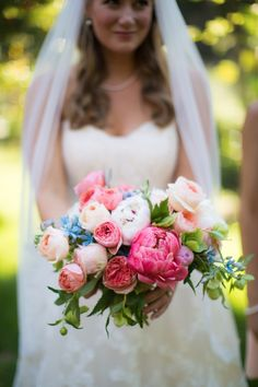 Cheerful wedding bouquet