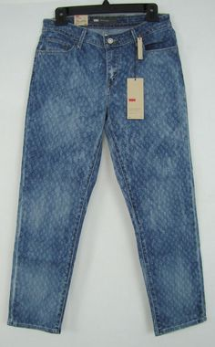 Levi's Jeans Women's Mid Rise Ankle Skinny Jeans Sizes 6, 12, 14 NEW #Levis #AnkleSkinny 29.99