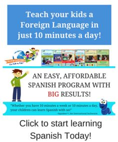 Foreign Language for Kids by Kids Review Homeschool Spanish