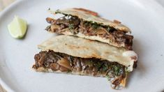 Vancouver's favourite taco joint Tacofino may not have expanded to Eastern Canada yet, but that doesn't mean you can't enjoy executive chef Jason Sussman's fresh, sustainable and made-from-scratch fare at home. Cure that NYE hangover and start the new year with this cheesy and flavourful mushroom quesadilla.