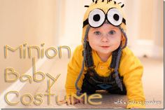 minion baby halloween costume    @Paige Hereford Hereford Garber; yesssssss