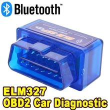Bluetooth V2.1 Auto Car Diagnostic Scanner Tool Mini ELM327 OBD2 OBDII Protocols Interface Code Readers Android For Most Cars
