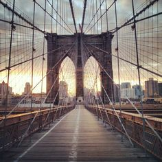 You can't visit one of the most iconic cities without visiting one of its most iconic landmarks. Spend some time to walk across this bridge taking in the views of the Manhattan skyline. If you're brave, catching sunrise from the middle of the bridge is breathtaking.