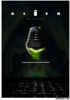 This looks cool . Doctor Who classic movie poster design with Daleks as Alien egg Classic Movie Posters, Classic Movies, The Rouge, Fan Poster, Aliens Movie, Business Magazine, Now And Then Movie, Dalek, Geek Out