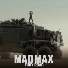 Mad Max: Fury Road - War Rig, WETA WORKSHOP DESIGN STUDIO on ArtStation at https://www.artstation.com/artwork/n1AyX