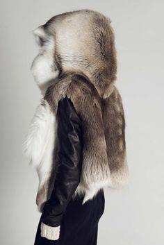 Arctic Reindeer Jacket | by Titania Inglis on COOLS