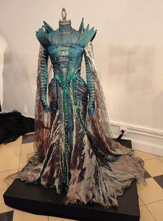 snow white and the huntsman dragon dress (they call it beetle - I like dragon better)- great use of shot silk