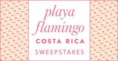kate spade new york and afar want to whisk away one lucky winner and a friend for a sunny escape to costa rica. I just entered, you should too! @katespadeny