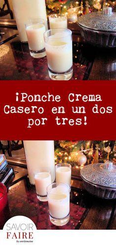 Me animé a preparar mi propio Ponche Crema en casa y con ello recreé los sabores de mi tierra natal, Venezuela, donde esta bebida es un clásico navideño. ¡Espero que te guste mi receta!
