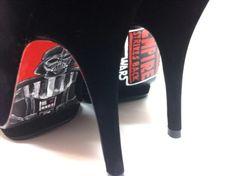Star Wars heels, on me, for derek, lol