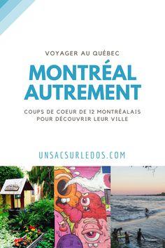 12 blogueurs montréalais (ou ayant vécu à Montréal) à nous partager leurs coups de cœur et leur regard sur leur ville ! Plein de bons conseils à garder en tête pour une prochaine visite de la ville. Au programme : des idées d'activités insolites, sportives et culturelles, des évènements et festivals à ne pas manquer, des bonnes adresses gourmandes, mais aussi pour se poser le temps d'un café ou se balader. -- voyage, Québec, Canada, Amérique du Nord, blog, inside tips, citytrip Quebec Montreal, Montreal Travel, Montreal Ville, Tours France, Restaurant Montreal, Cheap Travel, Canada Travel, Coups, Travel Style