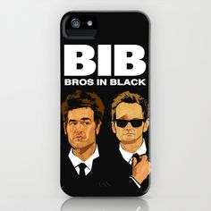 Bros in Black (How I Met Your Mother) iPhone & iPod Case by Andrew Thompson - $35.00