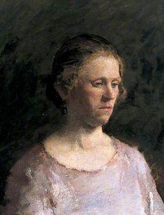 Portrait of a Woman by Julia Lynch  UCL Art Museum