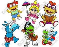 Personalized Iron On Transfers! Muppet Babies T Shirt Iron on Transfer Decal Childhood Characters, Cartoon Characters, Tattoo Flash Sheet, Muppet Babies, Miss Piggy, Jim Henson, Iron On Transfer, Bowser, Cool Kids