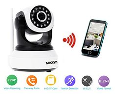 Special Offers - Sacam HD 720p P2p Wifi Ip Camera Pan Tilt 2 Way Audio Network Wireless Home Security Webcam Night Vision - In stock & Free Shipping. You can save more money! Check It (August 19 2016 at 07:51PM) >> http://motionsensorusa.net/sacam-hd-720p-p2p-wifi-ip-camera-pan-tilt-2-way-audio-network-wireless-home-security-webcam-night-vision/