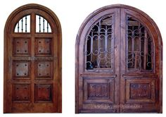 Custom Made Spanish Style Entry Doors - traditional - Front Doors - Los Angeles - Elegant Options