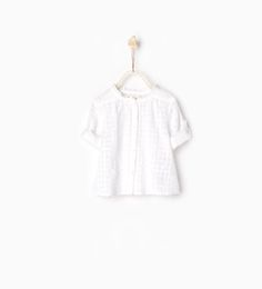 Crimped collar shirt-SHIRTS-BABY GIRL | 3 months-3 years-KIDS | ZARA United States