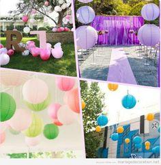 Déco mariage : bulles/boules