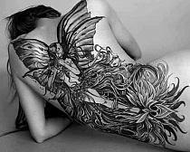 Tatuaże na całe plecy