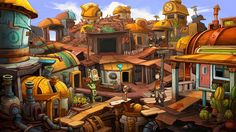 screenshot from Deponia