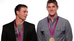 Here are U.S. Olympic swimmers Ryan Lochte and Conor Dwyer at our #TimeWellSpent PSA video shoot. To learn more about the campaign, head over to http://www.crowdrise.com/WaterForPeopleSupporters    #water #giving #swimming #sports #swim #olympics #development