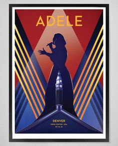 Adele at 'Pepsi Center', Denver (July 16) poster