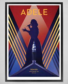 Adele at 'Pepsi Center', Denver (July 16) poster