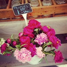 We love this beautiful shot from our local farmers market! Follow BHG on Instagram for more behind-the-scenes photos from our editors: http://instagram.com/betterhomesandgardens