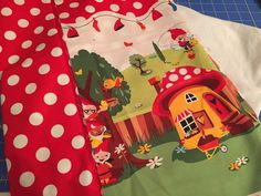 Little Lizard King - Sewing Patterns : Everyday Play Skirt - Sew-A-Long, Day 1