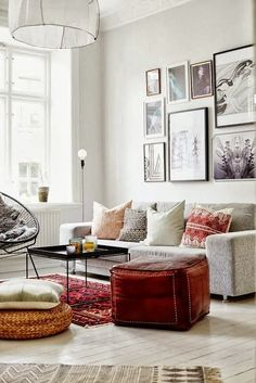 Cozy but still stylish - living rooms and dens
