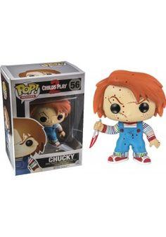 Figura Pop Muñeco diabólico 2 Bloody Chucky Exclusive 9 cm