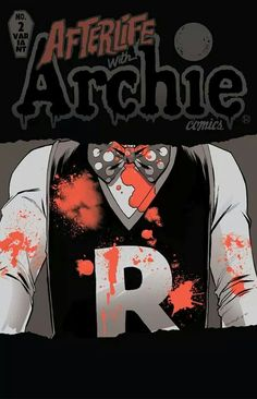 Afterlife With Archie variant cover Riverdale Comics, Riverdale Archie, Archie's Weird Mysteries, Afterlife With Archie, Archie Betty And Veronica, Archie Jughead, Comic Art, Comic Books, Zombie Attack
