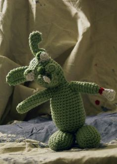 Zombie Rabbit | CrochetBot 3000 - free crochet pattern