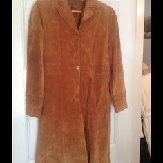 Sundance Catalog Suede Coat Pristine condition ,suede weaved coat purchased from Sundance catalog 7 years ago,Worn maybe a dozen times during that period, it's in amazing excellent new condition, Jackets & Coats