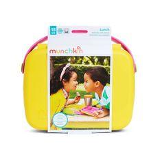Munchkin Bento Box Yellow/Pink — Oh Baby! Bento Box, Lunch Box, Yellow, Pink, Baby, Baby Humor, Pink Hair, Infant, Babies