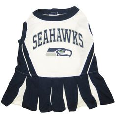 Seattle Seahawks Nfl Football Pet Cheerleader Outfit At HotDogCollars.com