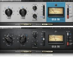 Effects: Waves - CLA-76 Compressor Limiter