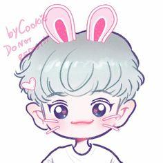 #FANART#EXO #CHANYEOL Cr.yooocookie