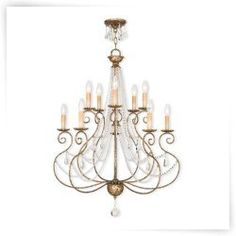 Livex Isabella 51909 10 Light Chandelier