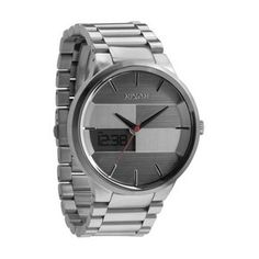 Silver Spencer Watch by Nixon