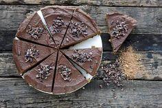 Resepti: Raakakakku, Marian balilainen suklaakakku
