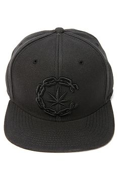 9457b421a80 Crooks and Castles infamous Chain Link C featuring a Marijuana leaf in all  Black. 90