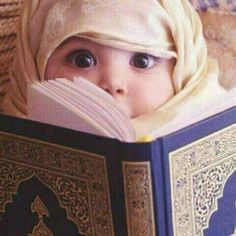 baby, islam, and quran image