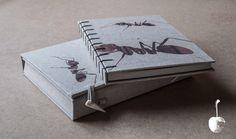 Ant criss cross binding, by zz books