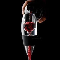 The Vinturi wine aerator: because you don't have time to wait for a decanter to decant. ($20) - http://wfol.ly/1MxG5y1