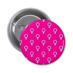 Femme Pinback Buttons