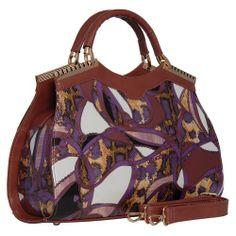 NYFH Fashion Collection, PU Leather Women's Elegant Satchel Handbag With Printed Pattern (Purple) NYFH,http://www.amazon.com/dp/B00IEDEYD4/ref=cm_sw_r_pi_dp_O2Cdtb1EEFR3J49V